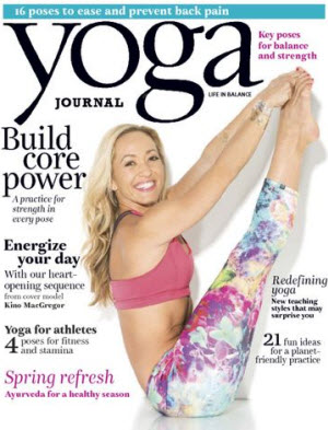 Yoga Journal YogaFaith Kino McGregor