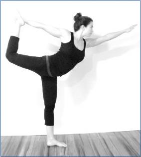 half bow / dancer lord of the dance  yogafaith