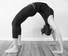 upward bow / wheel  yogafaith