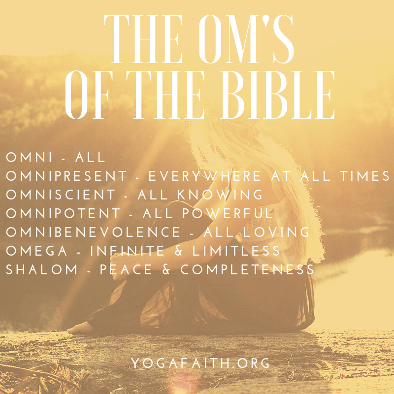 To Om or Not to Om - Christian Yoga Association