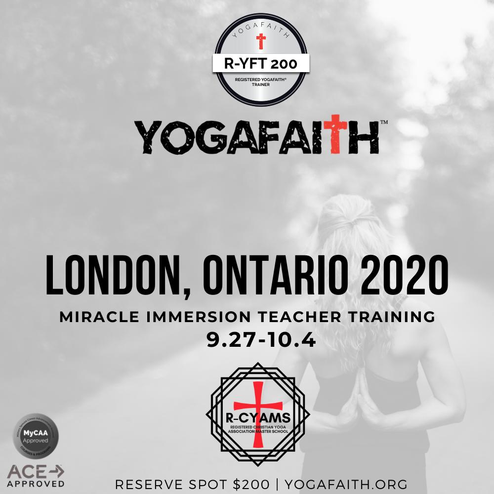 Yogafaith 2020 London Ontario Cananda 200 Hour Teacher Training Yogafaith