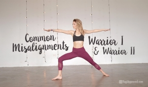 Christian Yoga Articles YogiApproved Blog Warrior 1 Warrior 2