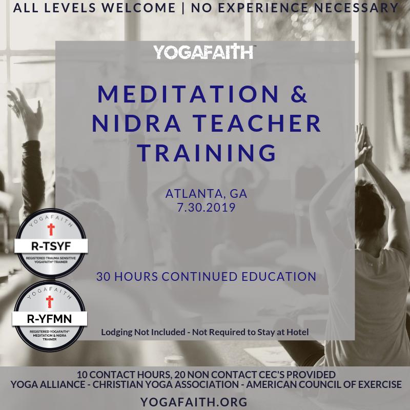 Yogafaith Meditation And Nidra One Day Intensive Atlanta July 30 Yogafaith
