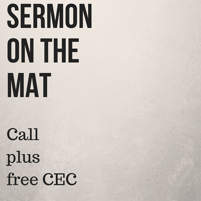 Sermon on the Mat