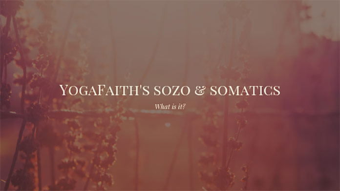 sozo and somatics